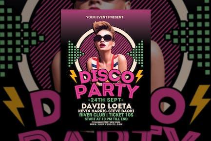 Disco Party Night