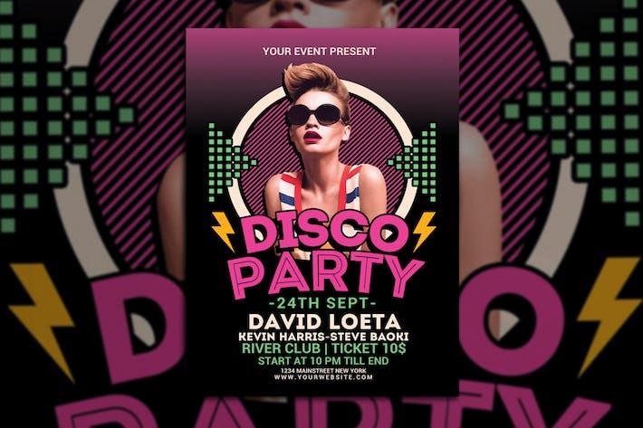 Thumbnail for Disco Party Night
