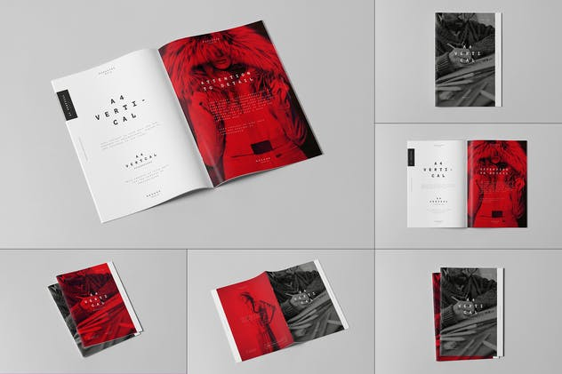 A4 Brochure Mock-up 3 - product preview 10
