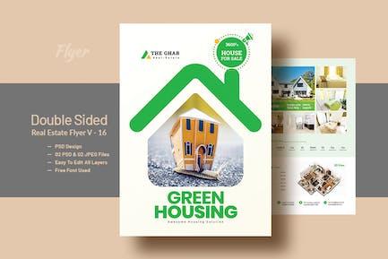Double Side Real-Estate(Apartment Sales) Flyer V16