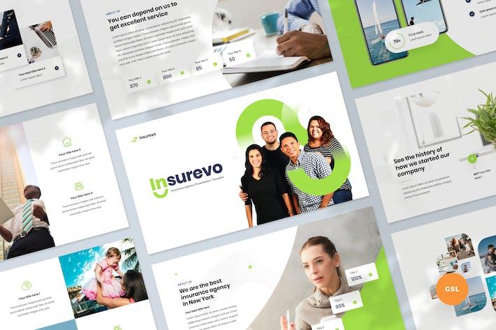 Thumbnail for Insurance Agency Presentation Slides Template