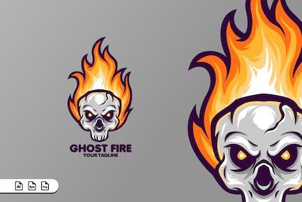 GHOST FIRE MASCOT