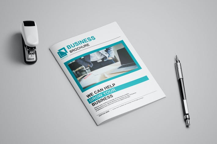 Thumbnail for Business Brochure 12 pages