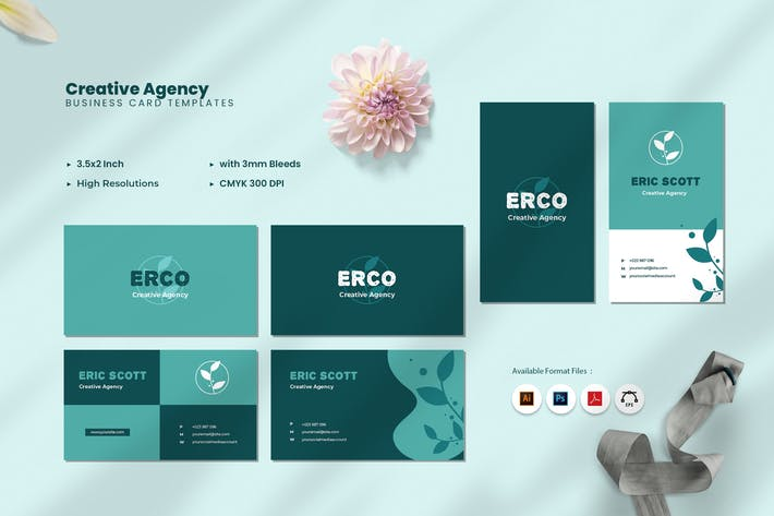 Thumbnail for Graphic Designer Business Card