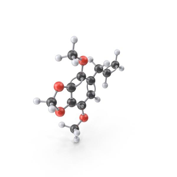 Apiole Molecule