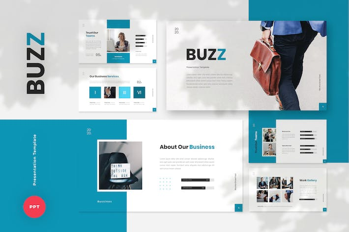 Thumbnail for Buzz - Business PowerPoint Template