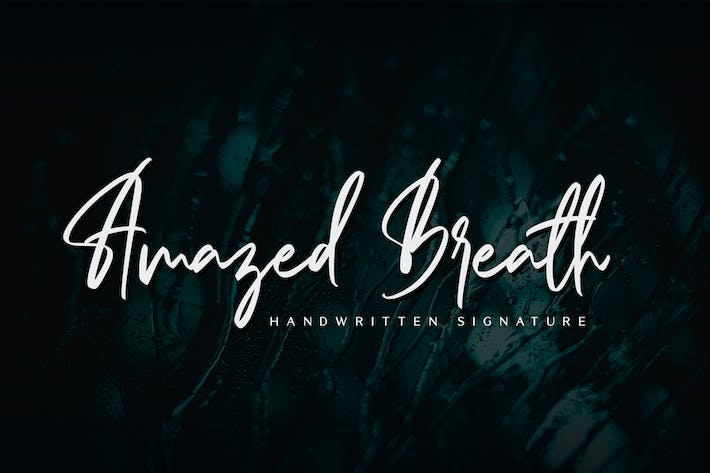 Thumbnail for Amazed Breath - Handwritten Signature
