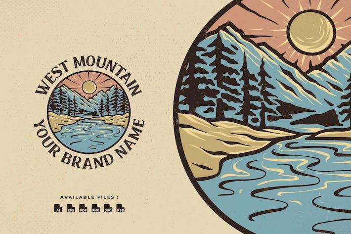 Thumbnail for West Mountain Handrawn Logo
