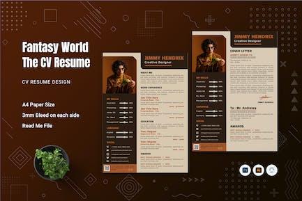 Fantasy World CV Resume