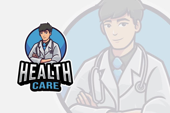 Thumbnail for Health Care Logo Template