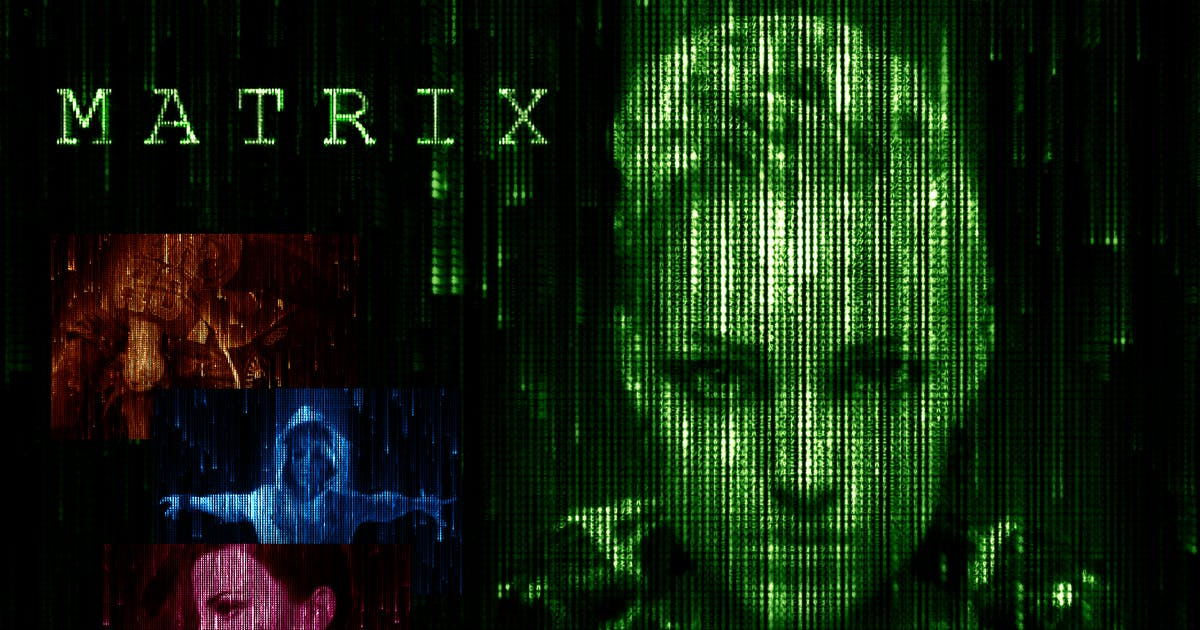 Download Matrix Code CS3+ Photoshop Action by FD-Design