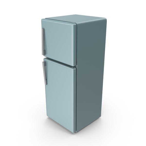 Thumbnail for Grey Blue Refrigerator
