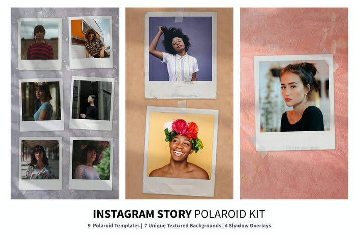 Thumbnail for Instagram Story Polaroid Kit
