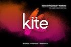 Kite - Modern Typeface + WebFonts