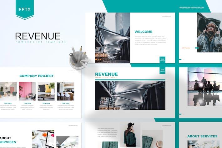 Thumbnail for Выручка — бизнес-Шаблон Powerpoint