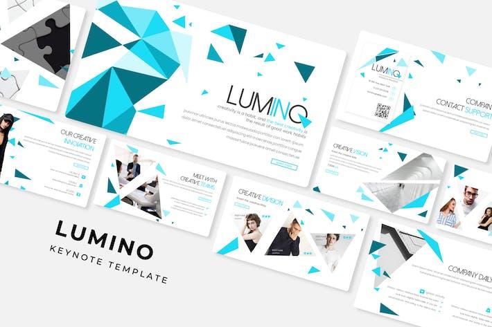 Thumbnail for Lumino - Keynote Template