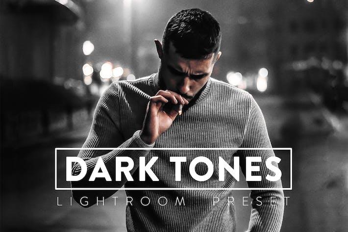 10 темных тонов Пресеты Lightroom