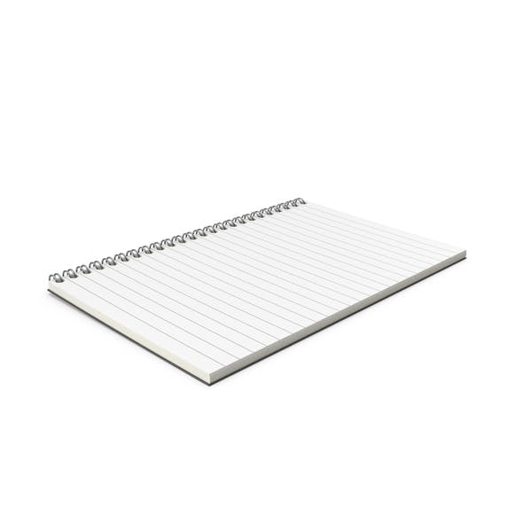 Cover Image for Notebook Open Folded