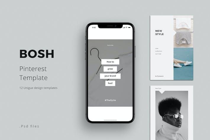 Thumbnail for BOSH - Pinterest Template
