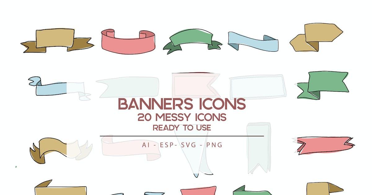Download Banners Icons set by SetiadiKaryaPertiwi