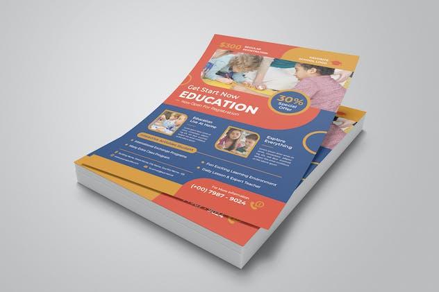 Schoolchild Activities Flyer