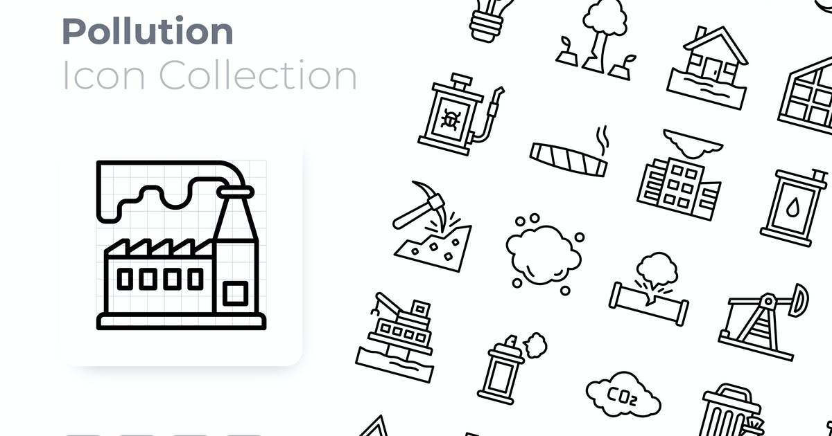 Download Pollution Outline Icon by GoodWare_Std