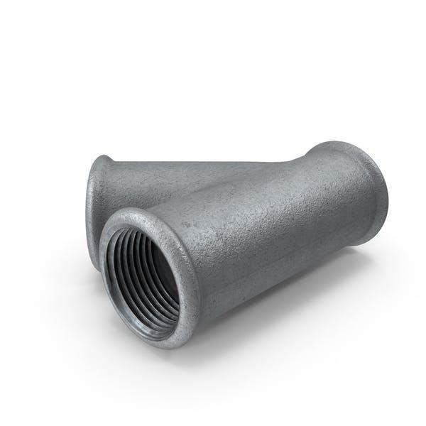 División de tubos de acero galvanizado
