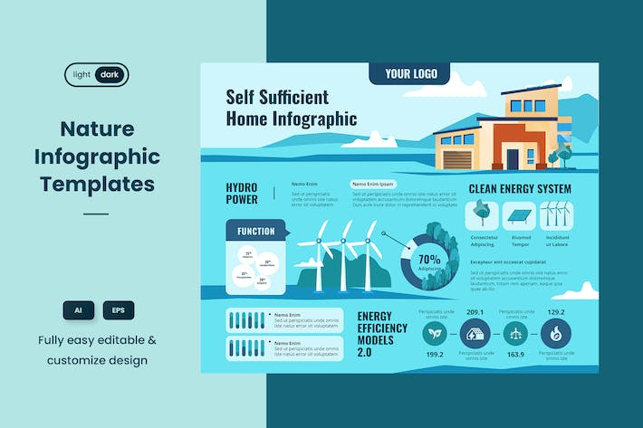 Thumbnail for Infographic examples for Ecology & Nature 03