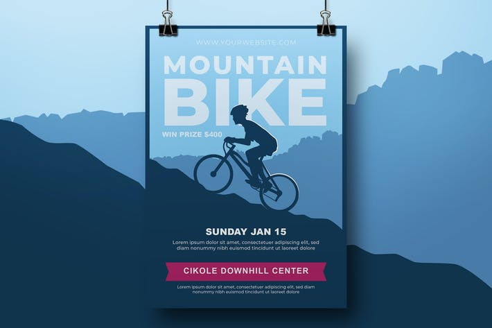 Thumbnail for Mountainbike-Flyer
