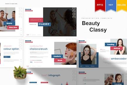 Beauty Class | Powerpoint, Keynote, Google Slides