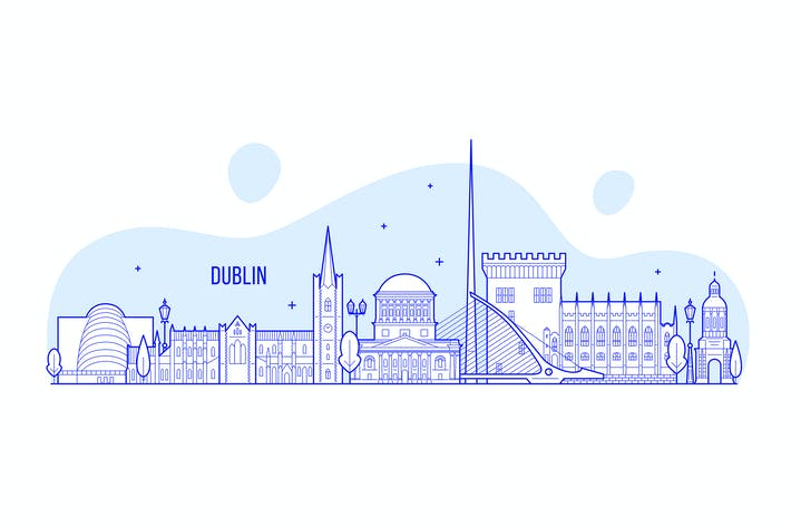 Thumbnail for Dublin skyline, Ireland