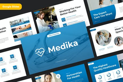 MEDIKA - Medical Google Slides Template