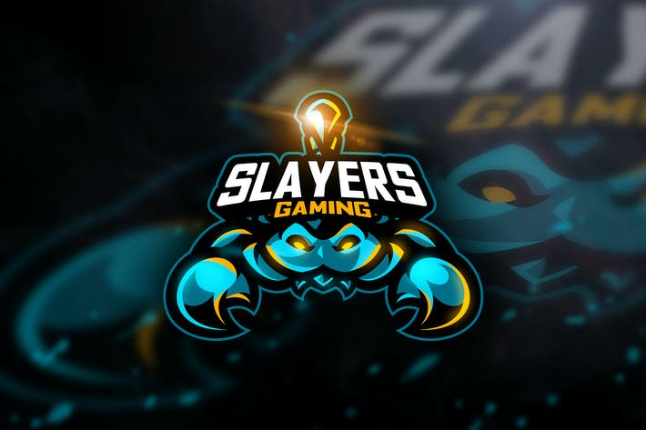 Thumbnail for Slayers Gaming- Mascot & Esport Logo