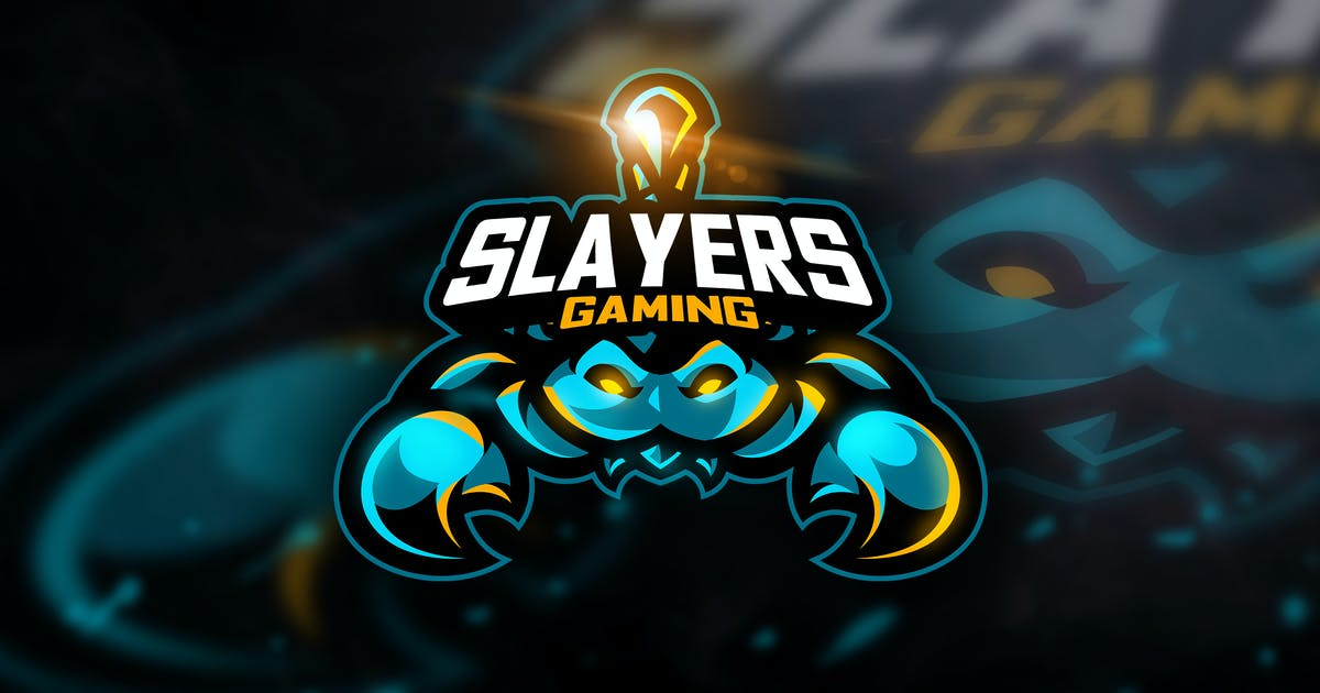 Download Slayers Gaming- Mascot & Esport Logo by aqrstudio