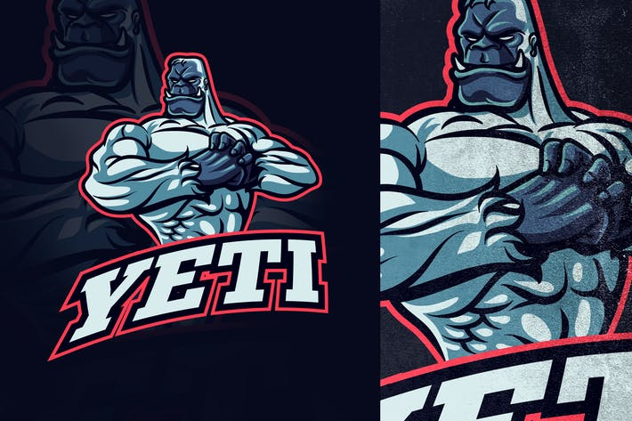 Thumbnail for Yeti Esports and Sports Mascot Logo
