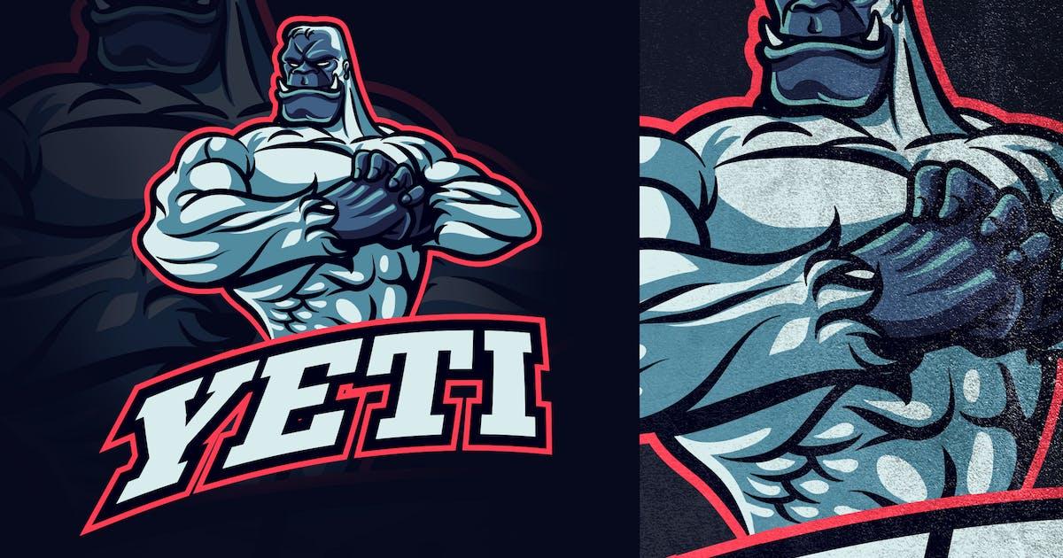 Download Yeti Esports and Sports Mascot Logo by Suhandi