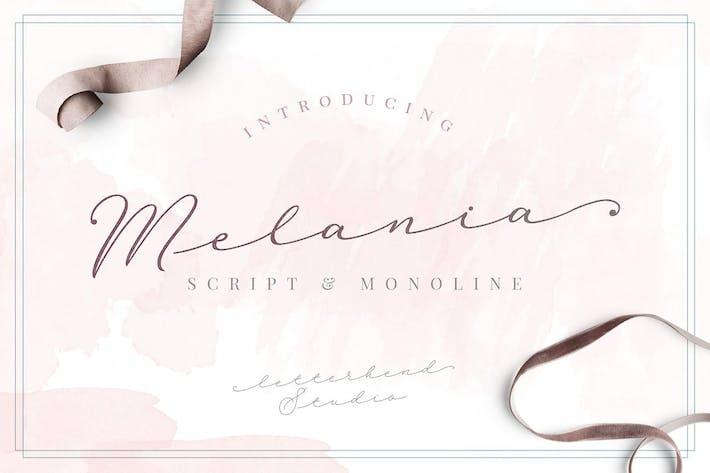 Thumbnail for Melania Script