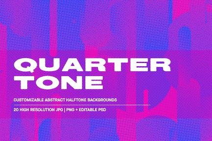 Quarter Tone - Customizable Backgrounds pack