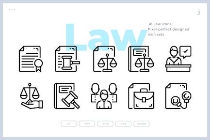 30 GesetzesIcons