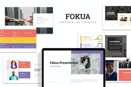 Fokua : School Profile Keynote