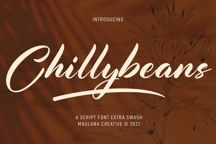 Chillybeans Script Font