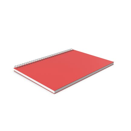 Bloc de notas rojo
