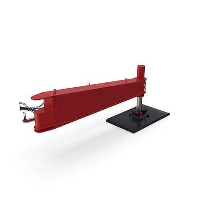 Crane Outrigger Large Red