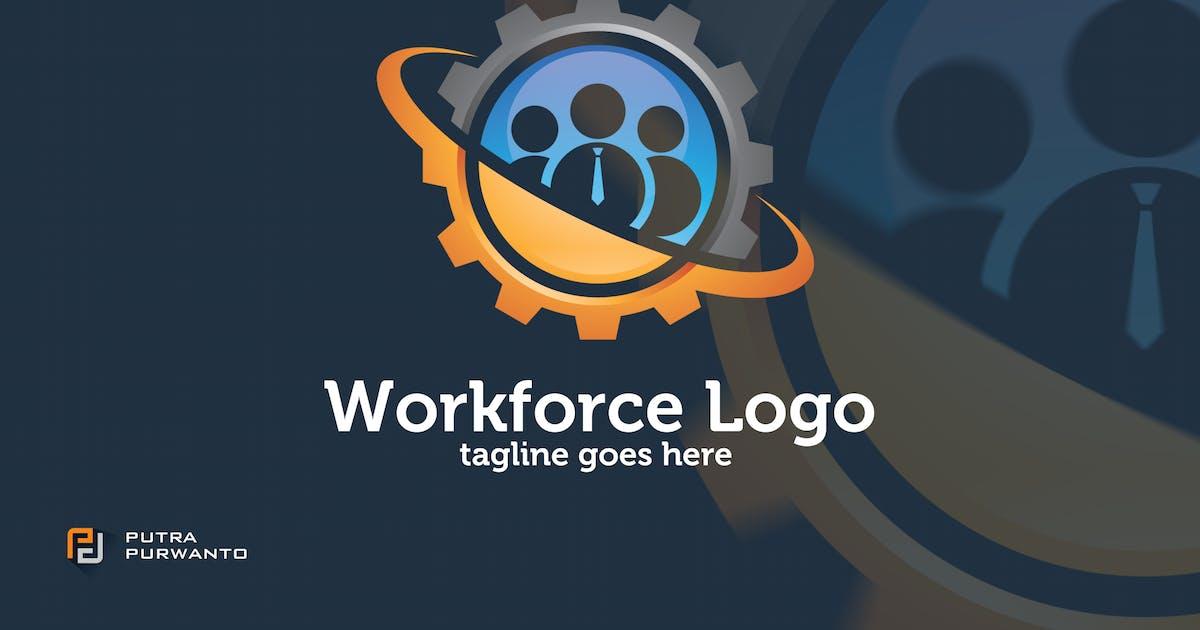 Workforce - Logo Template by putra_purwanto