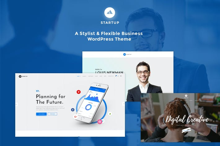 Thumbnail for StartUp - Responsive Multi-Purpose WordPress Theme