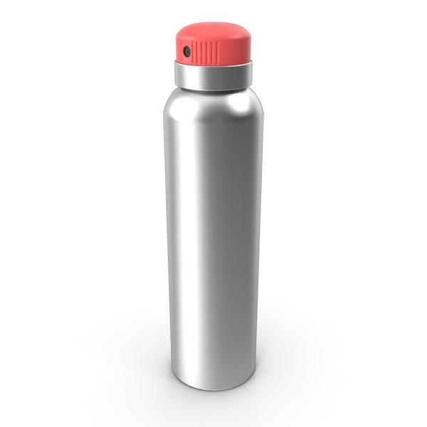 Бутылка спрей красный
