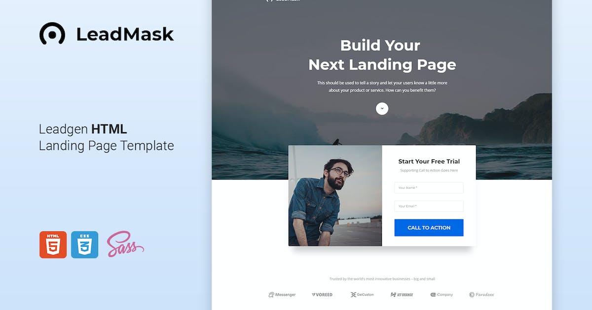 Download LeadMask - Leadgen HTML Landing Page Template by Morad