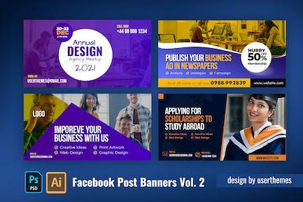 Facebook Post Banner Vol. 2