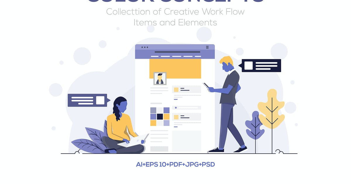 Download Modern Flat design people and Business concepts by graphics4u