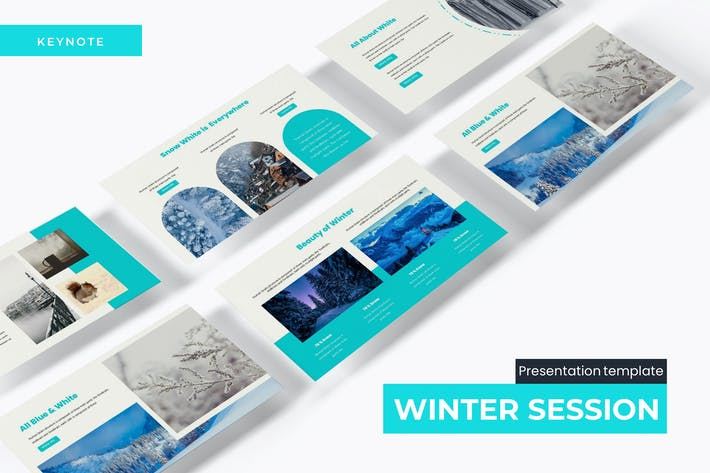 Cover Image For Winter Session - Keynote Template